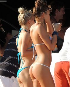 Chicks with tight butts